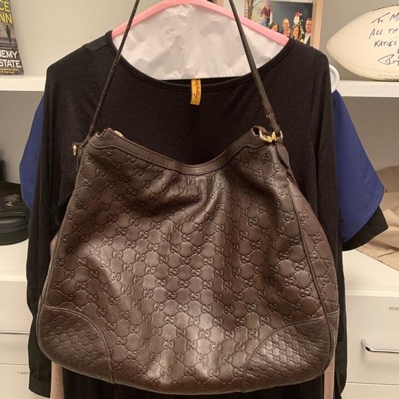 87ed530b855 Gucci Handbags - Gucci Signature hobo bag